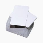 Cartão branco de PVC Importado - 0,75mm