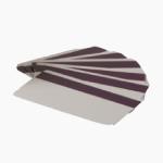 Cartão branco de PVC com tarja magnética